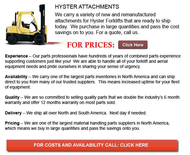 Hyster Attachments